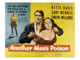 Another Man's Poison, Gary Merrill, Bette Davis, 1951 Posters
