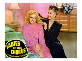 Ladies of the Chorus, Marilyn Monroe, Adele Jergens, 1948 Photo