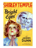 Bright Eyes, Shirley Temple, James Dunn, Judith Allen, 1934 Posters