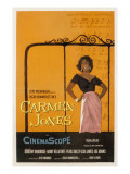 Carmen Jones, Dorothy Dandridge, 1954 Posters