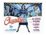 Claudia, Dorothy McGuire, Robert Young, Reginald Gardiner, Ina Claire, 1943 Prints