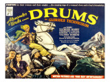 Drums, Valerie Hobson, Sabu, 1938 Posters