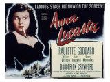Anna Lucasta, Paulette Goddard, 1949 Posters