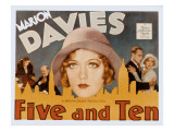 Five and Ten, Marion Davies, Richard Bennett, Leslie Howard, 1931 Posters