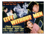 City Without Men, Linda Darnell, 1943 Print