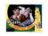 Connecticut Yankee, Will Rogers, Myrna Loy, 1931 Print