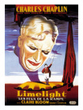 Limelight, French Poster Art, Charles Chaplin, 1952 Photo