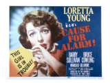 Cause for Alarm, Loretta Young, 1951 Psters