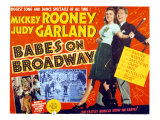 Babes on Broadway, Judy Garland, Mickey Rooney, 1941 Posters