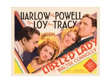Libeled Lady, William Powell, Myrna Loy, Jean Harlow, Spencer Tracy, 1936 Photo