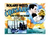 Corsair, Chester Morris, Thelma Todd, 1931 Prints
