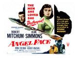 Angel Face, Robert Mitchum, Jean Simmons, 1952 Photo