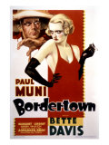 Bordertown, Paul Muni, Bette Davis, 1935 Poster