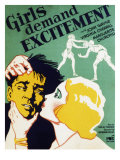 Girls Demand Excitement, John Wayne, Virginia Cherrill, 1931 Posters