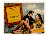 Ball of Fire, Gary Cooper, Barbara Stanwyck, 1941 Posters