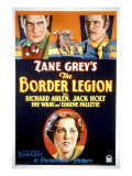 Border Legion, Richard Arlen, Jack Holt, Fay Wray, 1930 Poster