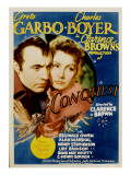 Conquest, Greta Garbo, Charles Boyer, 1937 Photo