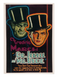 Dr. Jekyll and Mr. Hyde, Fredric March, 1931 Posters