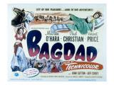 Bagdad, Maureen O'Hara, Paul Christian, 1949 Posters