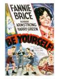 Be Yourself!, Fanny Brice, 1930 Posters