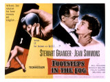 Footsteps in the Fog, Stewart Granger, Jean Simmons, 1955 Photo
