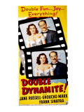 Double Dynamite, Jane Russell, Groucho Marx, 1951 Photo