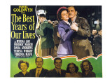 The Best Years of Our Lives, Myrna Loy, Fredric March , 1946 Poster