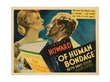 Of Human Bondage, Bette Davis, Leslie Howard, 1934 Photo