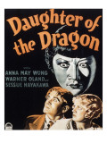 Daughter of the Dragon, Anna May Wong, Bramwell Fletcher, Frances Dade, 1931 Prints