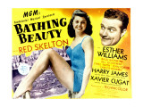 Bathing Beauty, Esther Williams, Red Skelton, 1944 Posters
