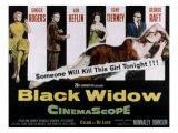 Black Widow, Ginger Rogers, Van Heflin, Gene Tierney, George Raft, Peggy Ann Garner, 1954 Photo