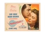 Notorious, Cary Grant, Ingrid Bergman, 1946 Photo