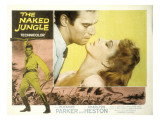 The Naked Jungle, Charlton Heston, Eleanor Parker, 1954 Photo
