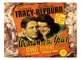 Woman of the Year, Spencer Tracy, Katharine Hepburn, 1942 Print