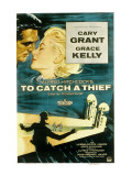 To Catch a Thief, Cary Grant, Grace Kelly, 1955 Posters