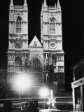 Westminster Abbey, London, England, 1930s Photo