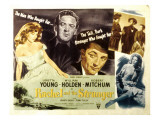 Rachel and the Stranger, Loretta Young, William Holden, Robert Mitchum, 1948 Photo