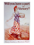 World War I American Homefront Poster, 1918 Posters by James Montgomery Flagg
