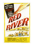 Red River, John Wayne, Joanne Dru, Montgomery Clift, 1948 Posters