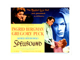 Spellbound, Ingrid Bergman, Gregory Peck, 1945 Photo