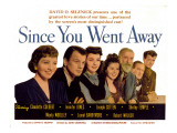 Since You Went Away, Claudette Colbert, Joseph Cotten, Jennifer Jones, and Shirley Temple, 1944 Posters