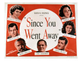 Since You Went Away, Claudette Colbert, Joseph Cotten, Monty Woolley, and Lionel Barrymore, 1944 Print