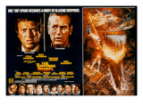 The Towering Inferno, Steve McQueen, Paul Newman, 1974 Print