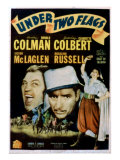 Under Two Flags, Victor Mclaglen, Ronald Colman, Claudette Colbert, 1936 Psters