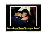 Rebel Without a Cause, Natalie Wood, James Dean, 1955 Print