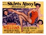 Skirts Ahoy!, Vivian Blaine, Esther Williams, Joan Evans, 1952 Posters