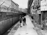 The Berlin Wall, Separating West Berlin and East Berlin, Five Years after Being Built, 1966 Posters