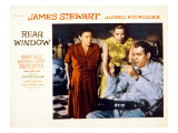 Rear Window, Thelma Ritter, Grace Kelly, James Stewart, 1954 Posters
