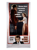 Rebel Without a Cause, James Dean, Natalie Wood, 1955 Prints