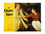 The Quiet Man, John Wayne, Maureen O'Hara, 1952 Lámina fotográfica